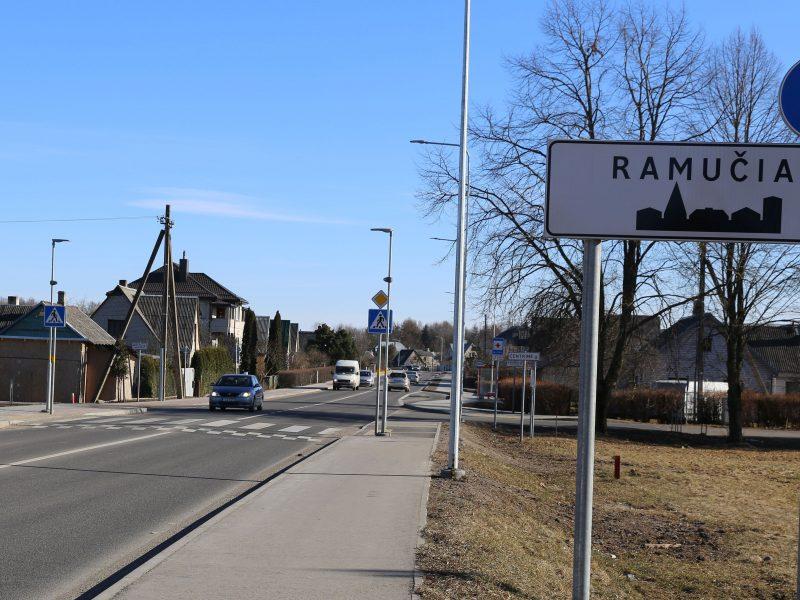 Pokyčiai Ramučiuose: laikinai koreguojamos dviejų autobusų maršrutų trasos