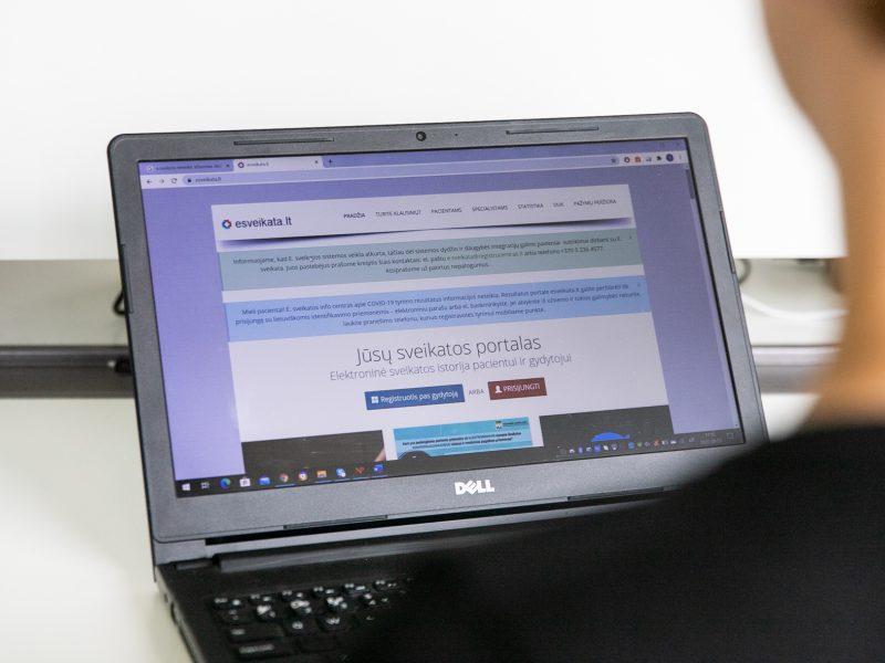 Kaip per esveikata.lt užsiregistruoti pas gydytoją, jei nesinaudoji interneto banku?