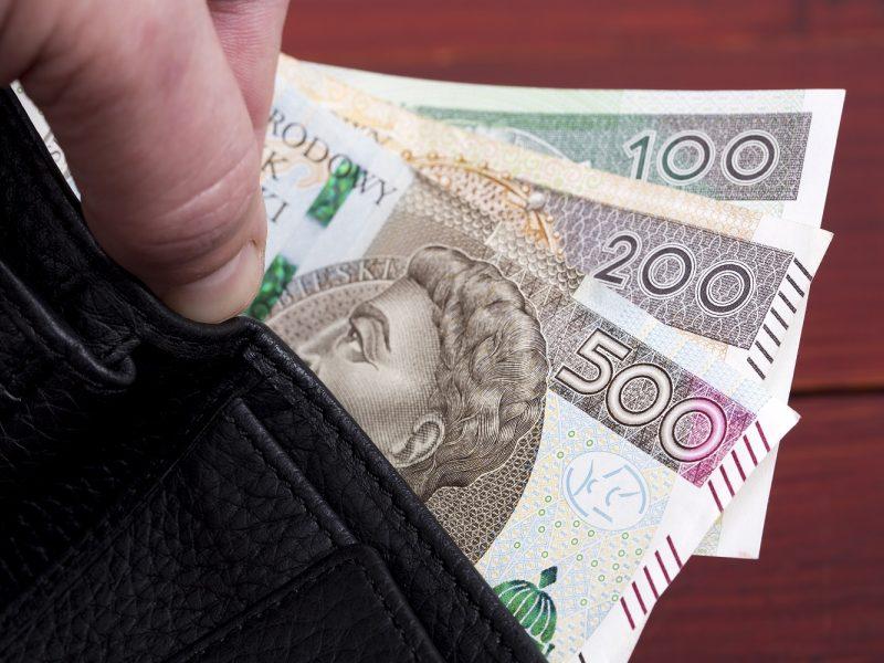 Atsakomybės bandęs išvengti vairuotojas davė 100 zlotų kyšį pareigūnui