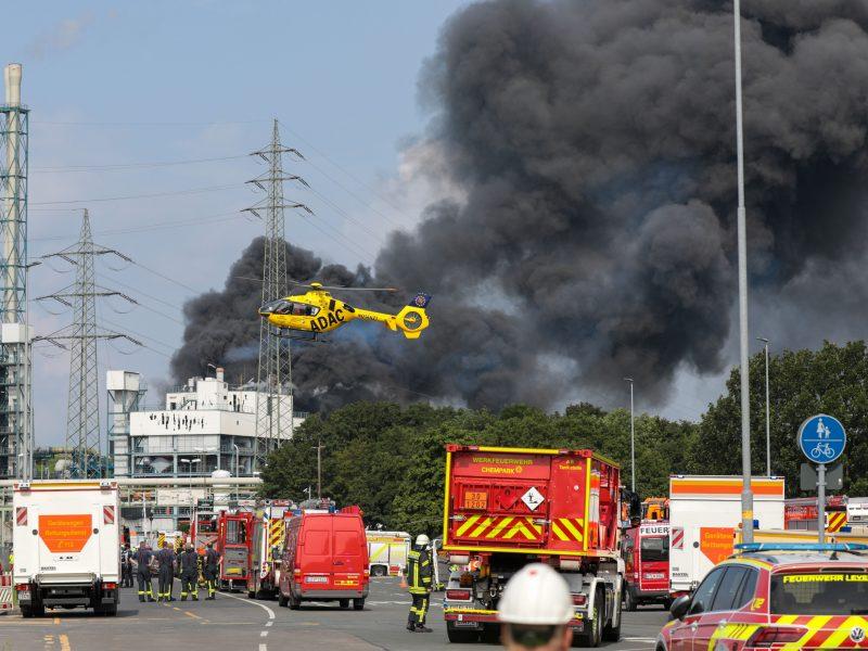 Vokietijoje pradedamas sprogimo chemijos pramonės komplekse tyrimas