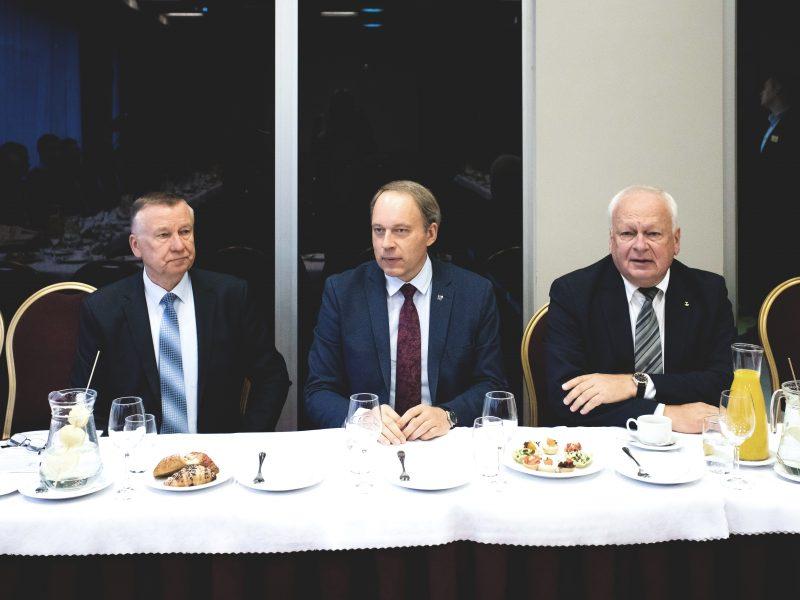 Verslo pusryčiai su KTU rektoriumi prof. Eugenijumi Valatka