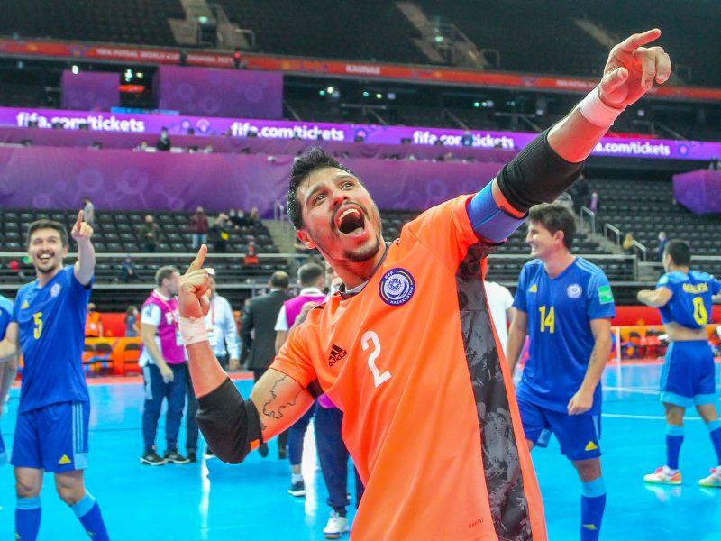 Iranas – Kazachstanas 2:3 | Futsalo PČ