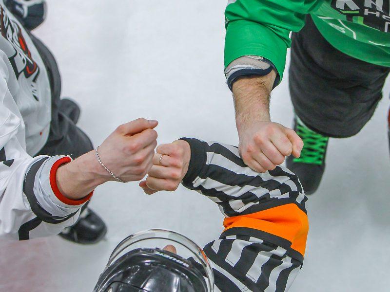"""LLRČ 1/2 finalo: """"Kaunas Hockey"""" – """"Baltų ainiai"""" 4:3"""