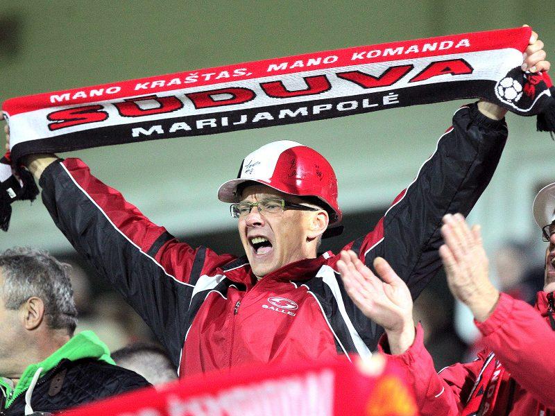 """LFF taurės pusfinalis: """"Sūduva"""" – """"Žalgiris"""" 4:2"""