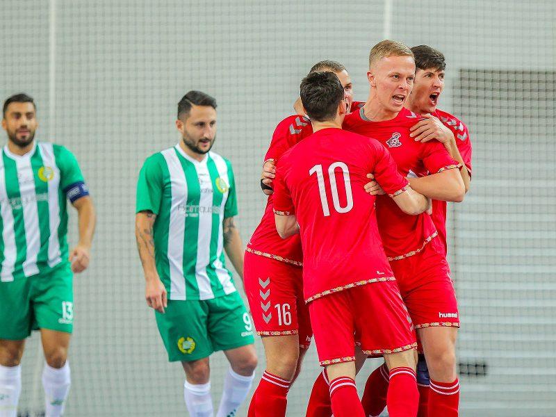 """Futsalas: """"Vytis"""" – """"Hammarby"""" 3:1"""