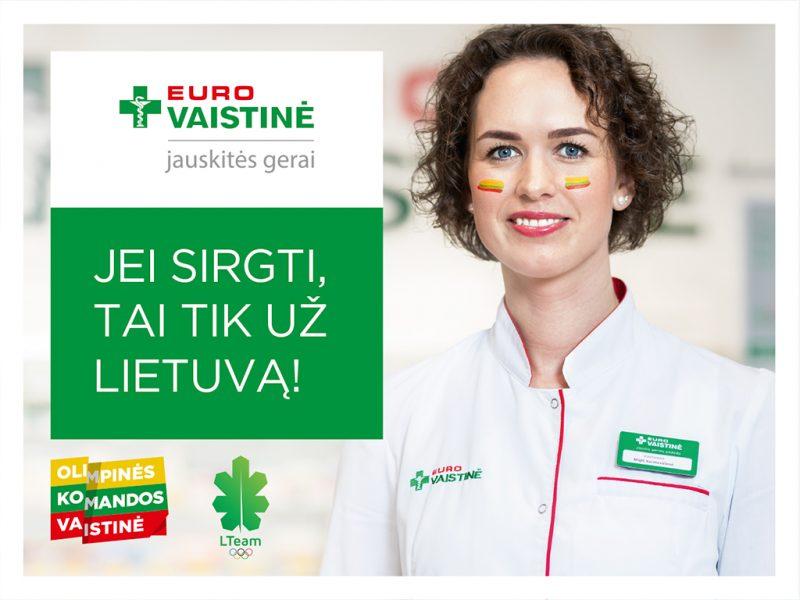 """""""Eurovaistinė"""" linki olimpiečiams sėkmingų startų!"""