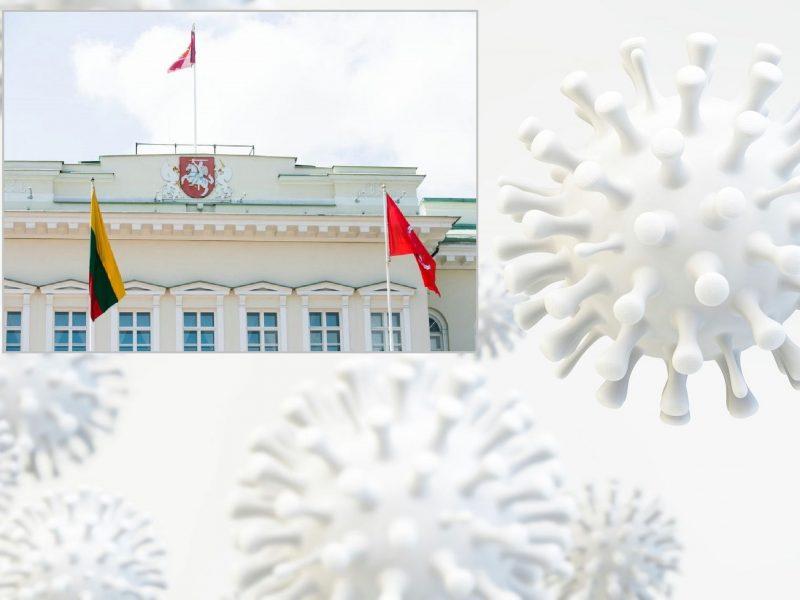 Prezidentūroje nustatytas pirmasis koronaviruso atvejis