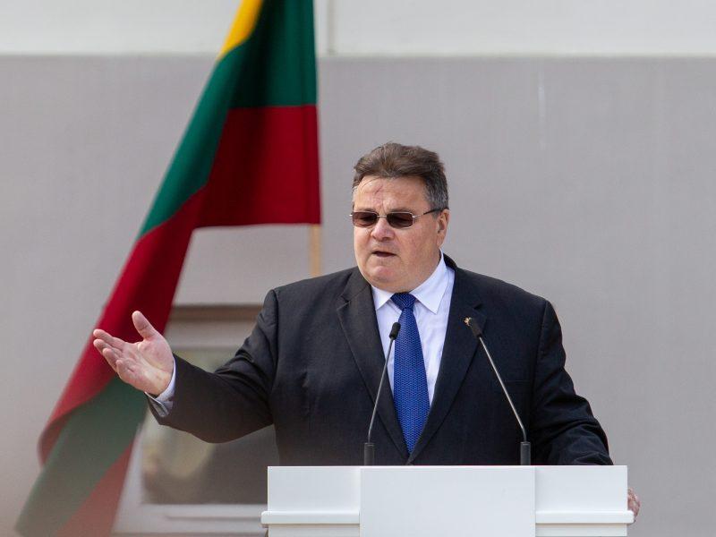 L. Linkevičius sako, kad Rusija yra atsakinga dėl INF sutarties nutraukimo