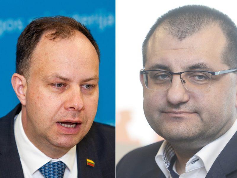 Prof. V. Kasiulevičius: ministrą A. Verygą medikai vertina nevienareikšmiškai