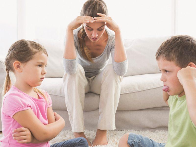 Psichologė: tėvai – pagrindinė nesutarimų tarp brolių ir seserų priežastis