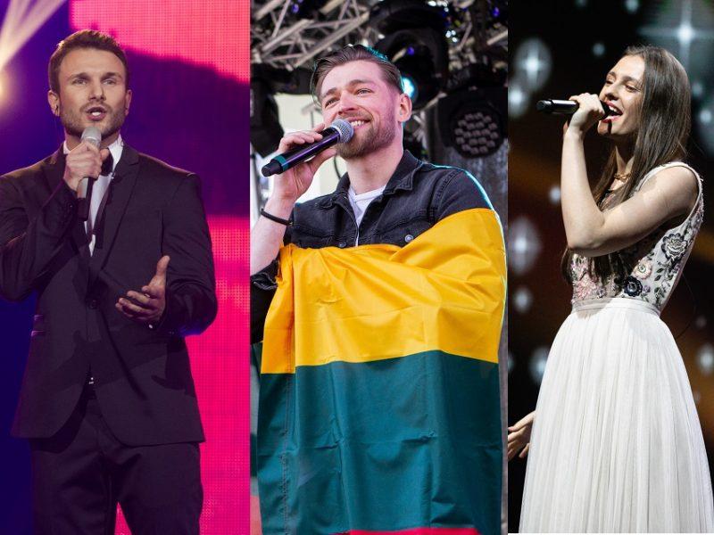 """""""Eurovizijos"""" sceną išbandžiusių atlikėjų prognozės: kaip seksis J. Veklenko?"""