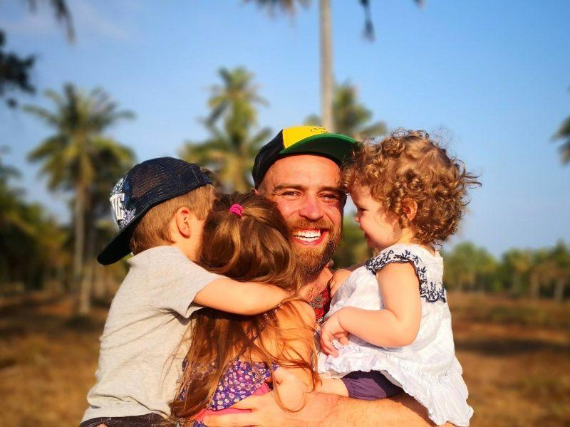 Trijų vaikų tėvas S. Urbonas – apie didžiausius iššūkius auginant atžalas