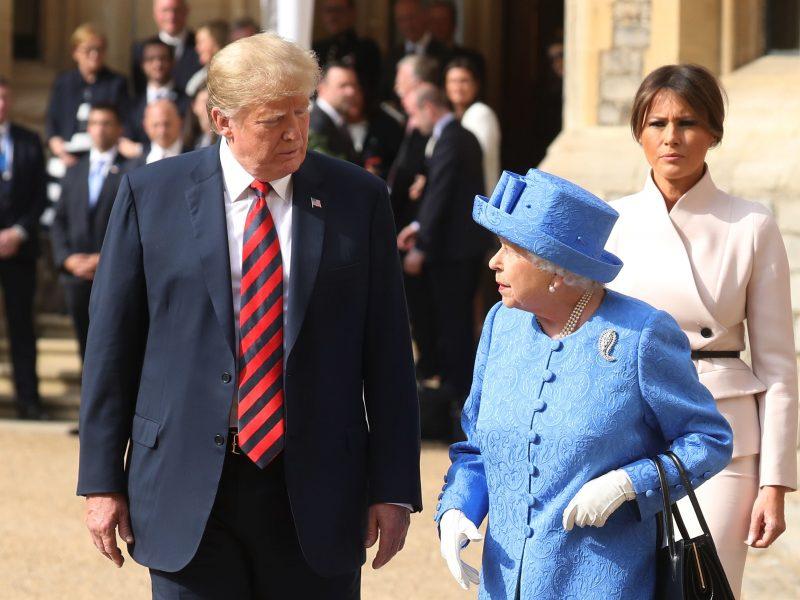 D. Trumpas birželį vyks valstybinio vizito į Didžiąją Britaniją