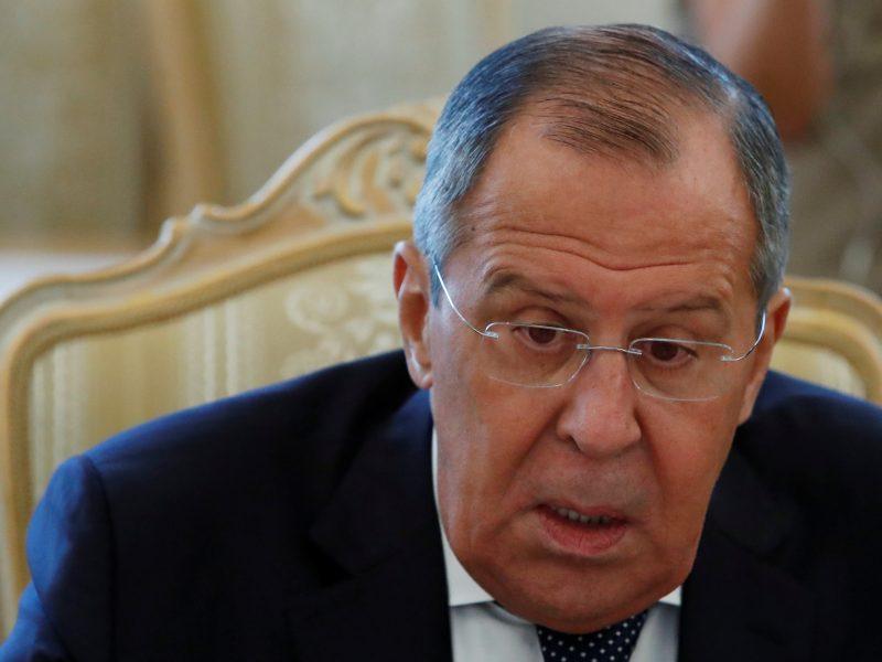 Rusijos URM vadovas S. Lavrovas tariasi su Izraeliu dėl Sirijos ir Irano