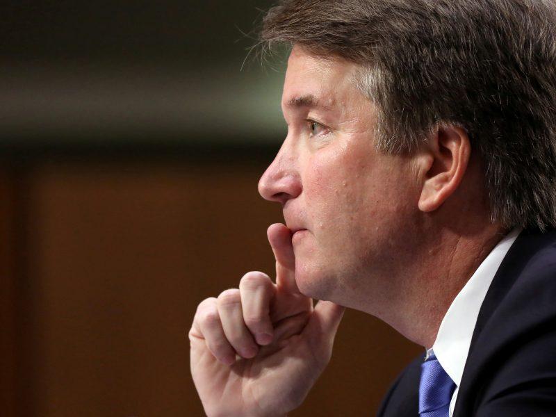 B. Kavanaugh surengė kontrpuolimą dėl kaltinimų lytiniu smurtu