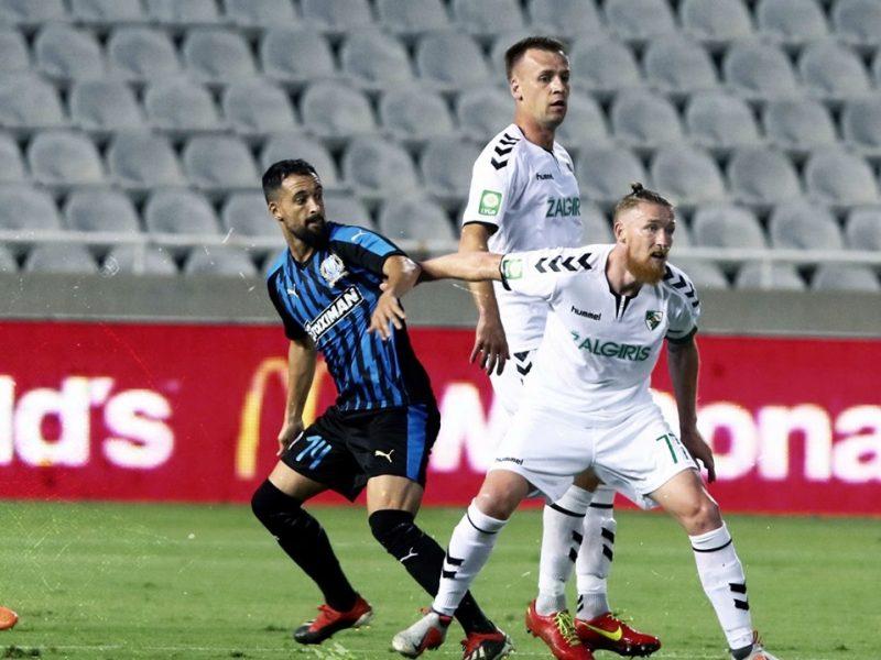"""""""Kauno Žalgiris"""" nepasipriešino Kipro klubui ir pasitraukė iš Europos lygos atrankos"""
