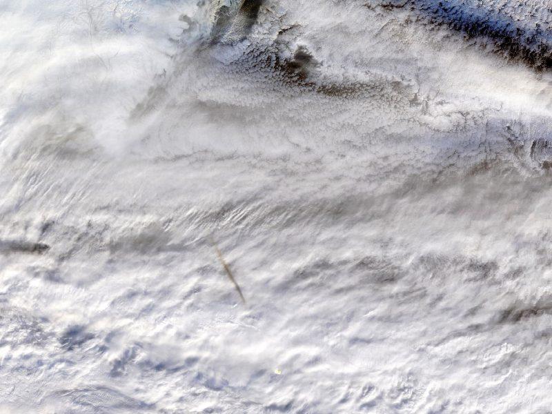 NASA paskelbė virš Beringo jūros praskriejusio bolido nuotraukų