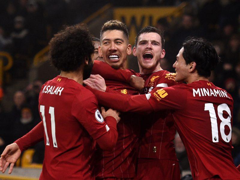 """""""Liverpool"""" paskutinėmis minutėmis išsigelbėjo Vulverhamptone"""
