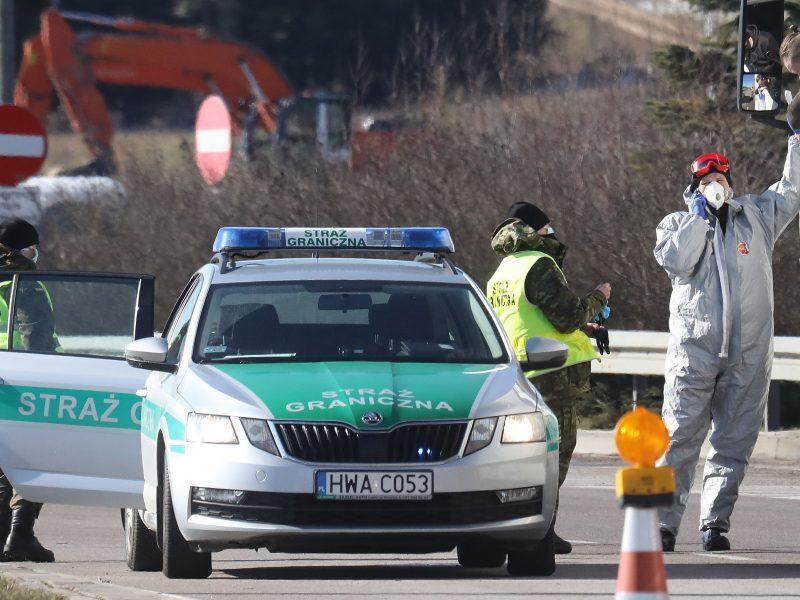 URM: Lietuvos piliečiai nuo šiol gali tranzitu grįžti namo per Lenkiją
