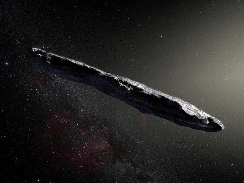 Tarpžvaigždinis objektas atskriejo  iš dvinarės sistemos?