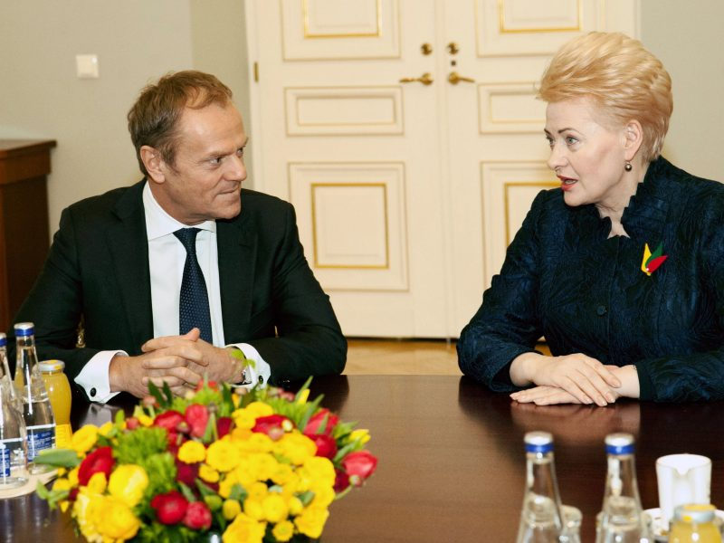 D. Grybauskaitė sako kol kas nesvarstanti europinės karjeros perspektyvų