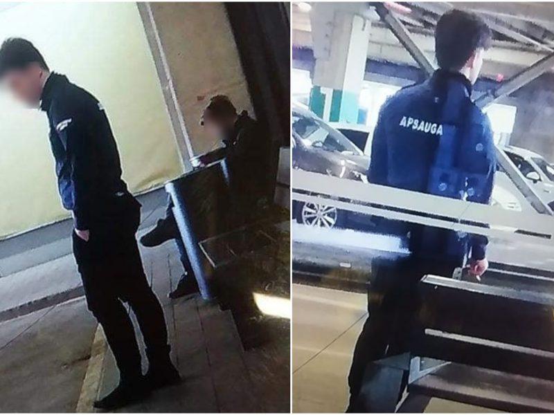 """Kauno """"Akropolyje"""" – drama dėl apsauginių kaukių"""