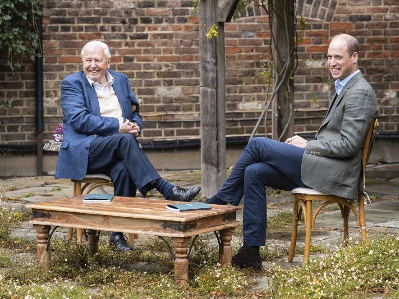 Princas Williamas ir garsus gamtininkas pristato naują gamtos apsaugos premiją