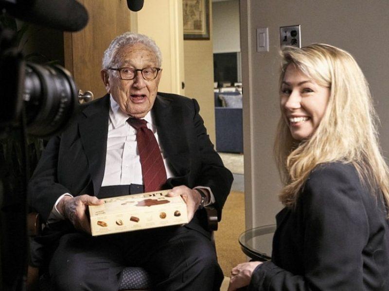G. Žickytės filme nusifilmavo žymus JAV diplomatas H. Kissingeris