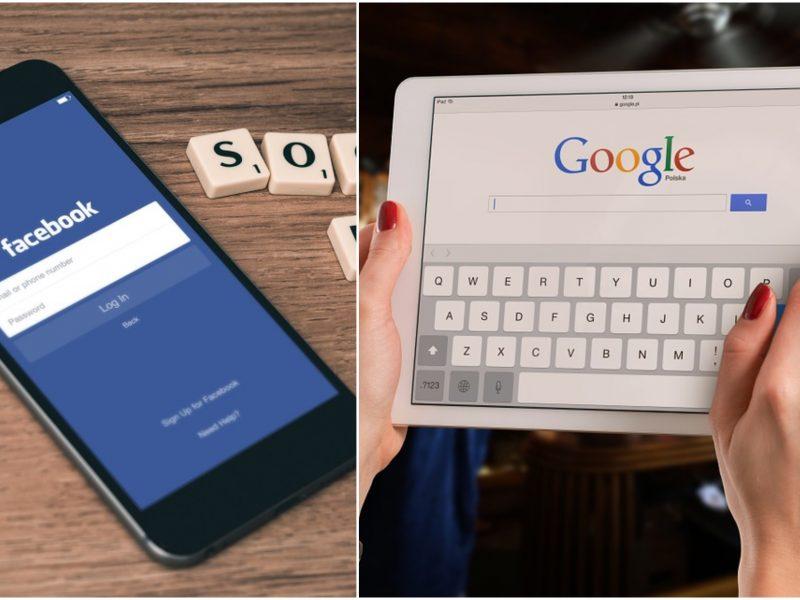 """Organizacija: """"Facebook"""" ir """"Google"""" verslo modeliai kelia grėsmę žmogaus teisėms"""