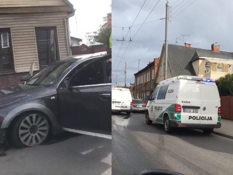 """Kaunietis apie girto vairuotojo sulaikymą: tai prilygo serialui """"Kobra 11"""""""