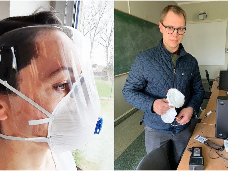 KU prisideda prie kovos su pandemija: ne tik tikrina respiratorius