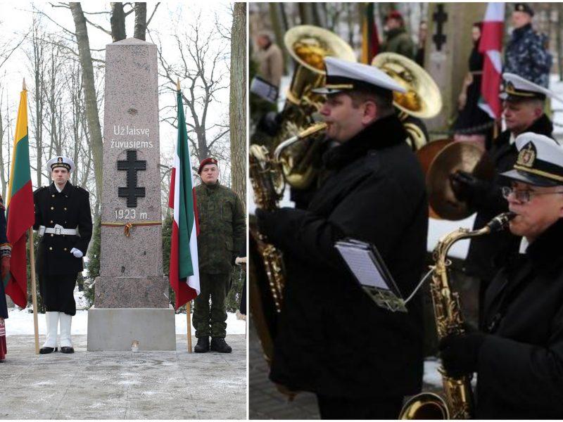 Minimos 97-osios Klaipėdos krašto prijungimo prie Lietuvos metinės