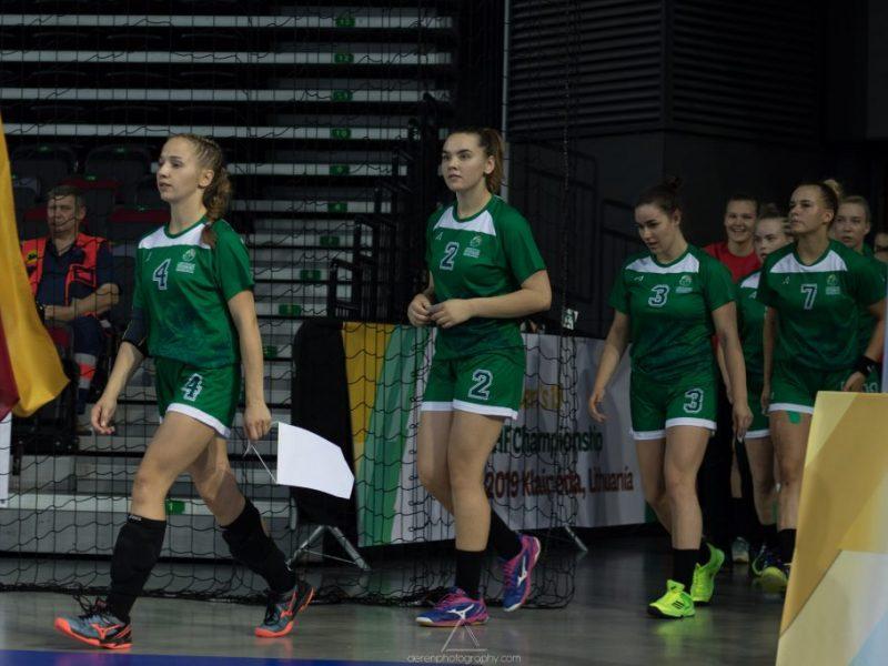 Lietuvos rankininkės Klaipėdoje pateko į pusfinalį