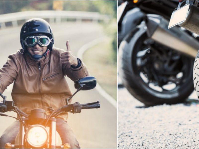 Motociklų padangos: kada jas reikia keisti?