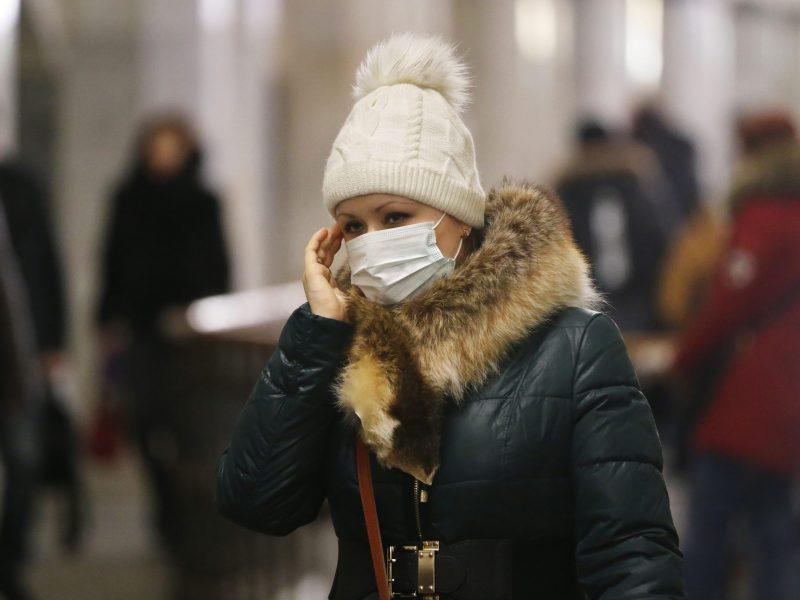 Gripo aukų skaičius padidėjo iki 18