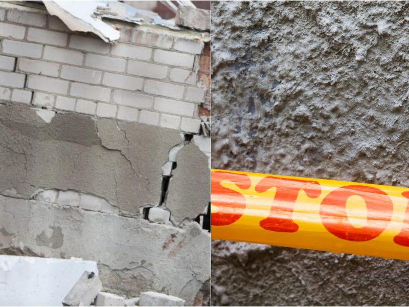 Kretingos rajone – nelaimė: sugriuvo namas, vienas žmogus žuvo