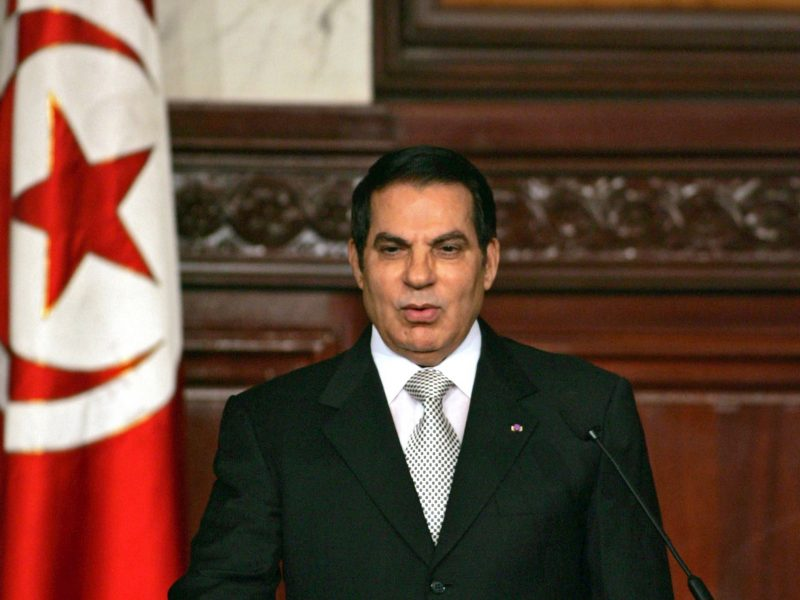 Mirė buvęs ilgametis Tuniso diktatorius