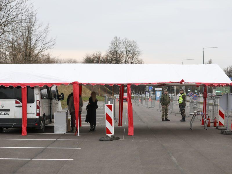 Vilniaus mobiliajame punkte COVID-19 tyrimai bus imami dviem srautais