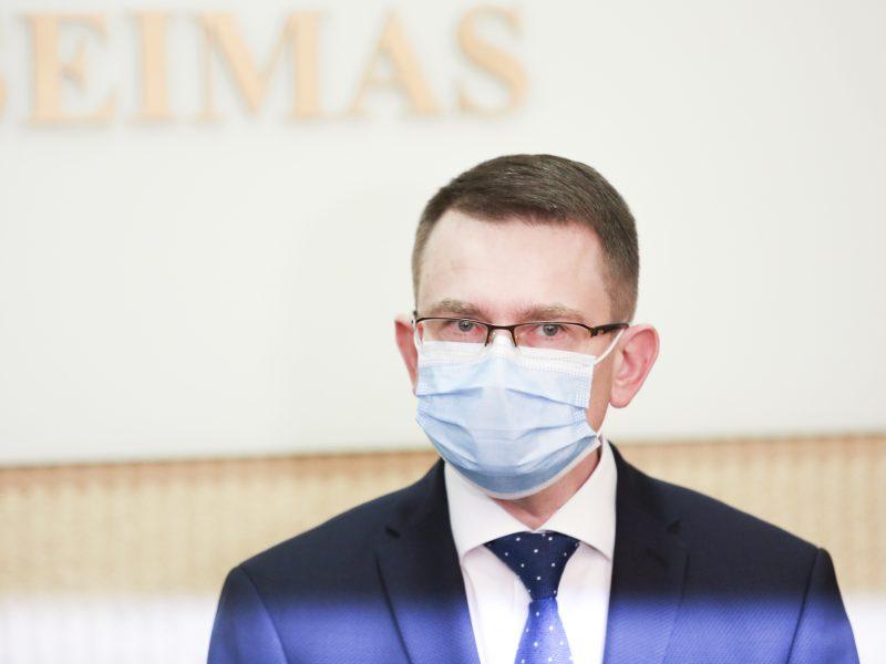 A. Dulkys: NVSC indėlis į pandemijos suvaldymą yra gana kuklus