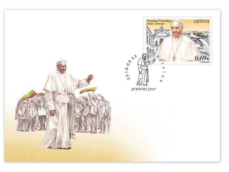 Po ilgos pertraukos pašto ženklą vėl papuoš popiežiaus atvaizdas