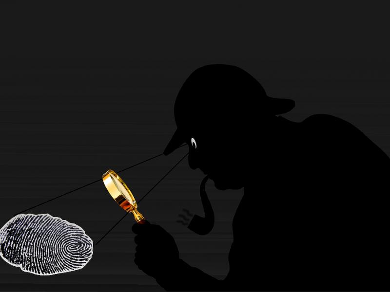 Privatus detektyvas: skrybėlę ir pypkę savo biure turime