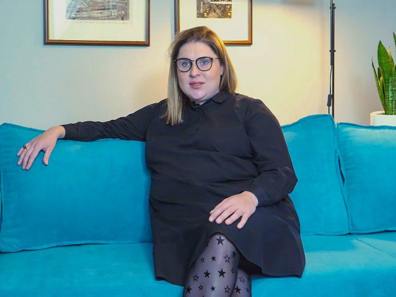 D. Filmanavičiūtė apie pasiruošimą motinystei: truputėlį panika kamuoja