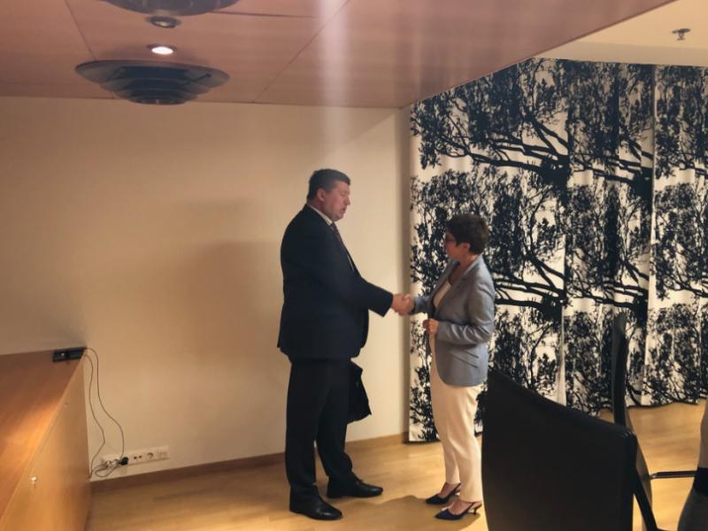 Lietuvos ir Vokietijos gynybos ministrai aptarė stiprėjančią partnerystę