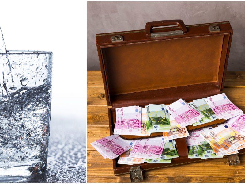 Trys moterys paprašė vandens, o iš namo išsinešė 10 tūkst. eurų