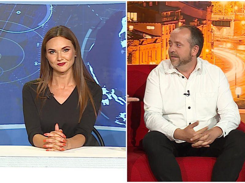 Kas bendro tarp žinių vedėjos D. Račaitės ir režisieriaus A. Žiurausko?