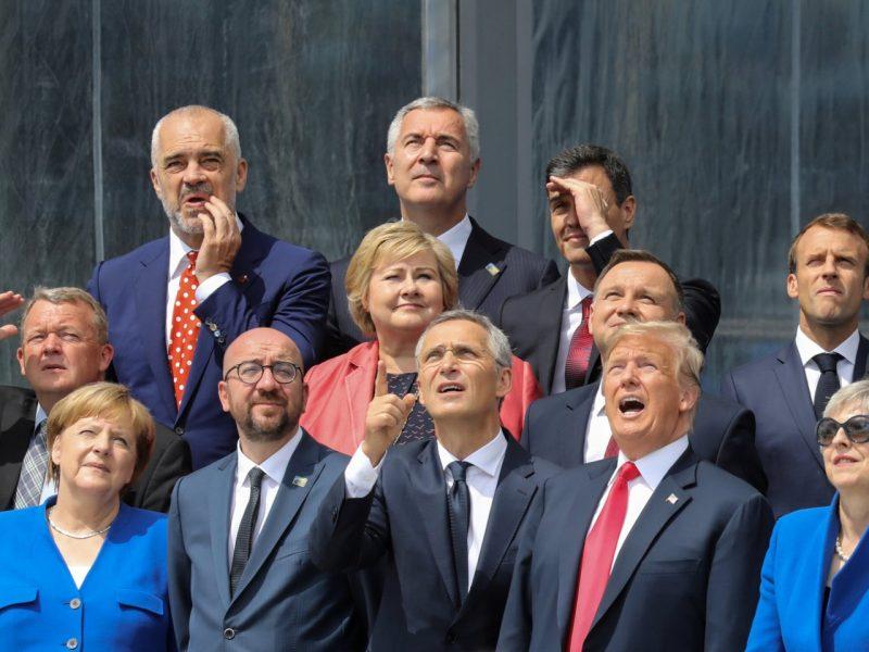 D. Trumpas: NATO šalys sutinka padidinti savo gynybos išlaidas