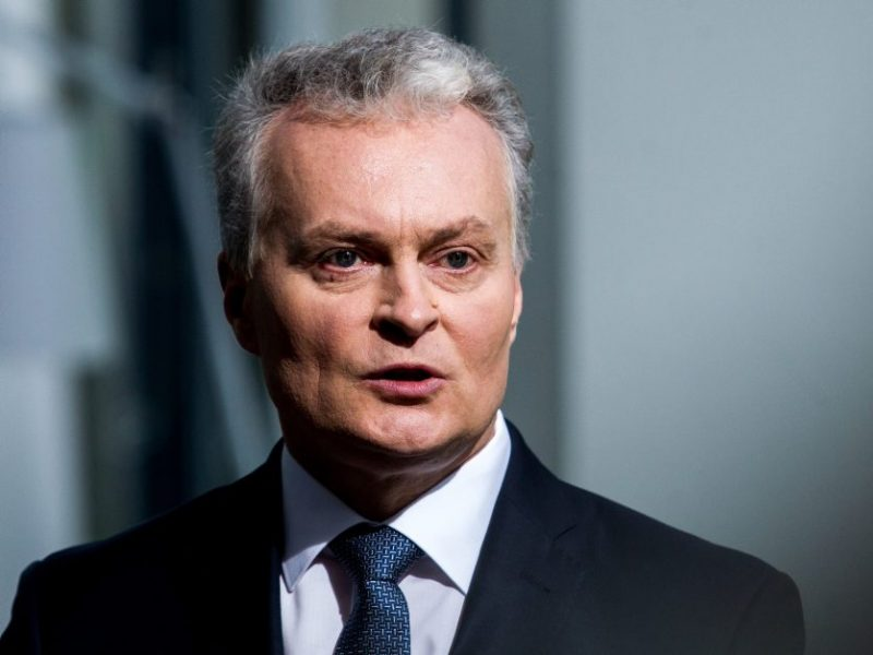 G. Nausėda NATO vadovui: Lietuvai reikia daugiau oro gynybos pajėgumų