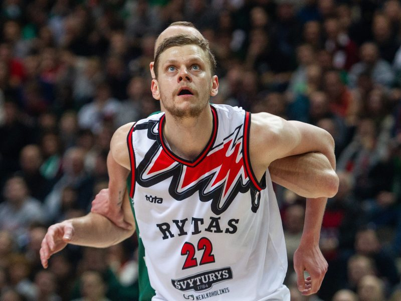 Karjeros rekordus gerinęs E. Bendžius – LKL savaitės MVP
