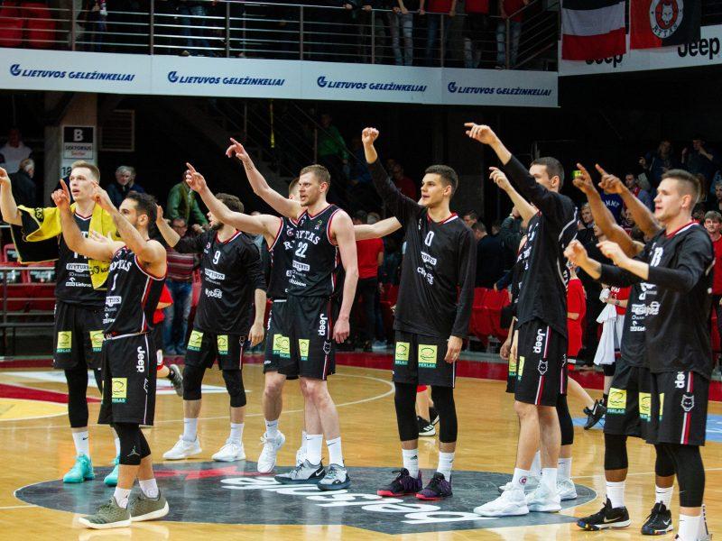 """Vilniaus """"Rytas"""" – antrame Europos taurės varžybų burtų krepšelyje"""