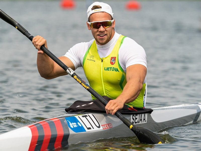 Ketvirtadienio lietuvių startai Europos žaidynėse